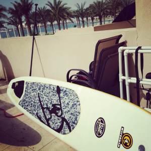 Jessica's Paddleboard
