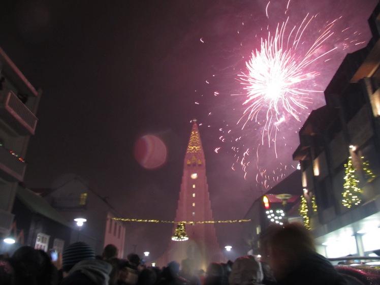 New Year's 2015 - Reykjavik, Iceland.
