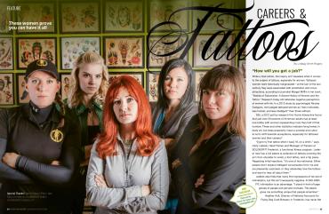 Sass Magazine, Winter 2016 feature p1