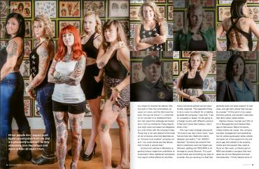 Sass Magazine, Winter 2016 feature p2