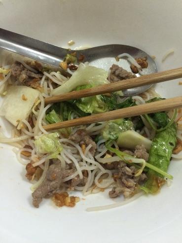 Endless delicious bowls of bun ga, pho, and other delicious Vietnamese specialties.