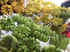 """""""Buddha fingers,"""" a fruit bought not for eating but for temple offerings."""