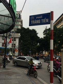 Around the French Quarter of Hanoi.