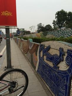 Mosaics around the city