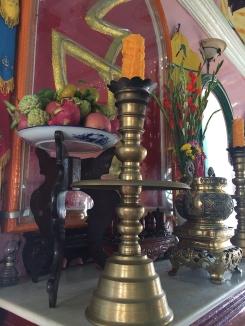 Interior temple details