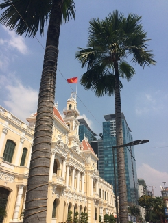 Mash-up of old and new in Saigon