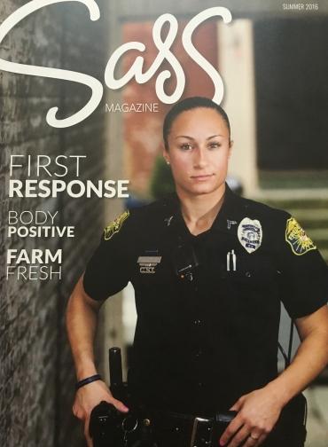 Sass Magazine, Summer 2016 cover
