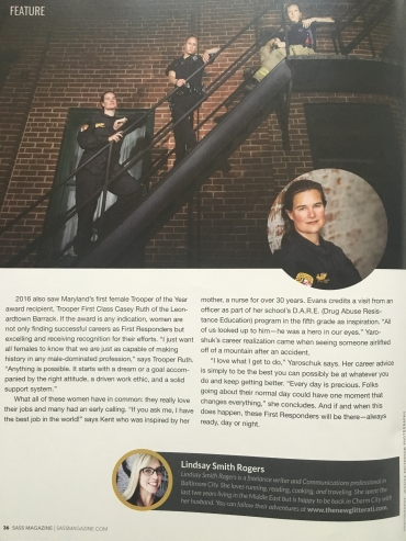 Sass Magazine, Summer 2016 feature p4